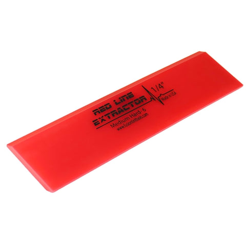 "8"" RED LINE EXTRACTOR - 1/4"" THICK - DOUBLE BEVELED SQUEEGEE BLADE"