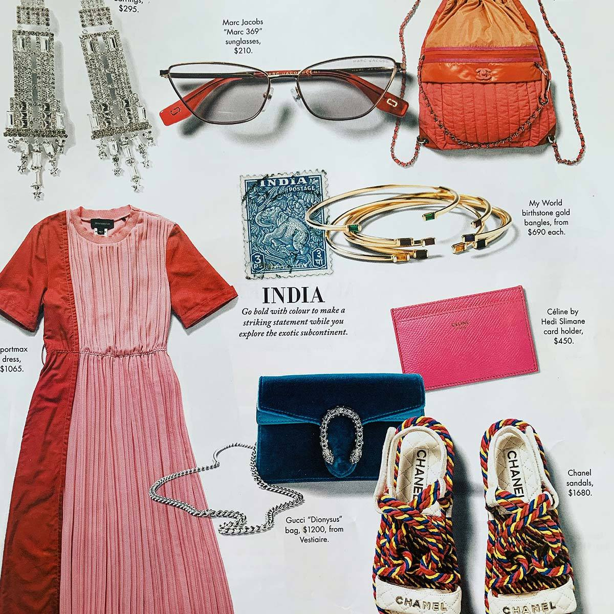 My World Jewellery in Sunday Life Magazine