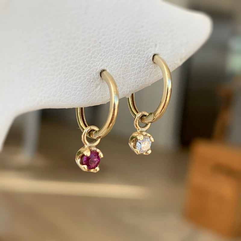 Bojangle Birthstone Earring