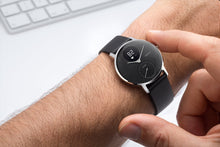 Nokia | Steel HR Hybrid Smartwatch - Silver/Black, 40mm - Borderoo