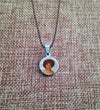 Stainless Steel Round Picture Pendant