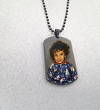Stainless Steel Picture Dog Tag