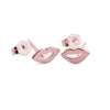 Mini Lip Design Stud Earrings