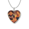 Polished Heart Picture Pendant