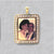 Rectangle Cubic Stone Picture Pendant frame