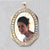 Oval Cubic Stone Picture Pendant frame