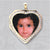 Heart Cubic Stone Picture Pendant frame