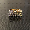 The Bella Name Ring