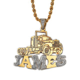 The Truck Name Pendant
