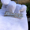 Iced Out Double Finger Ring