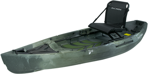 NuCanoe Essential Angler Fishing Kayak