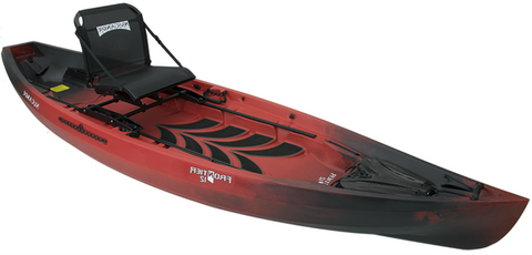 NuCanoe Essential Anglers Fishing Kayak