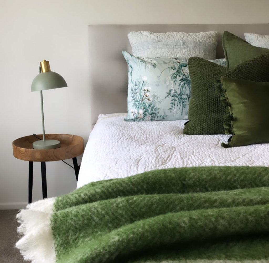 Creating an inviting bed
