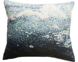 Manly Teal Multi Feather 45x55cm Cushion