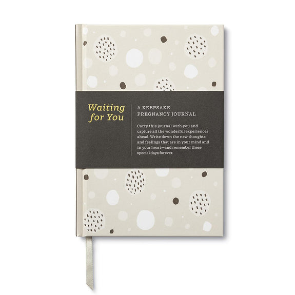 Keepsake Pregnancy Journal Waiting For You