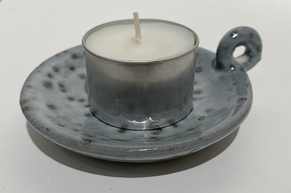 Candle stand, Freja, Light blue