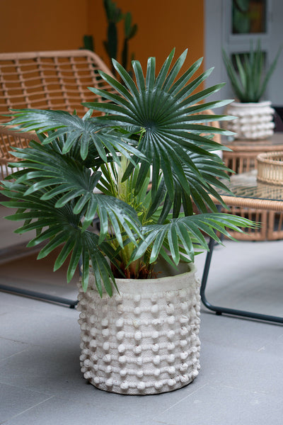 Pom Pom Cement Planters - 2 sizes