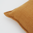 FLAXMILL CUSHION - Ochre