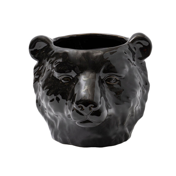 TIMON PLANTER - BLACK
