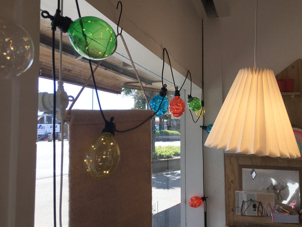 Coloured Festoon Pendant twinkle lights