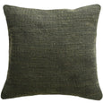 Jasper Cushion 45x45cm - Leaf Green-Black