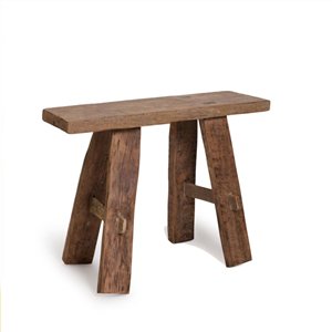 TEAK BENCH SMALL NAT