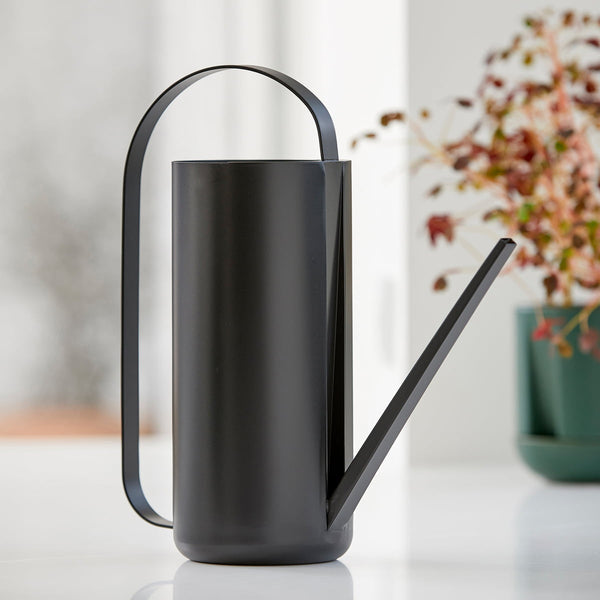 HERB & SPROUT WATERING CAN 1.5LTR - BLACK