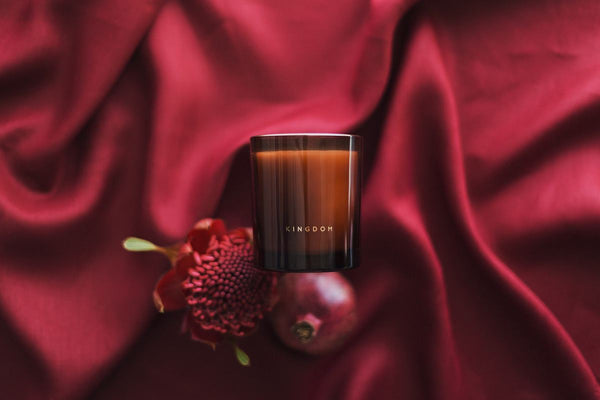 POMEGRANATE & PEACH - LUXURY SOY CANDLE