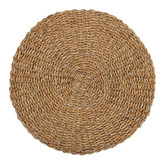 SEAGRASS PLACEMAT ROUND S/6