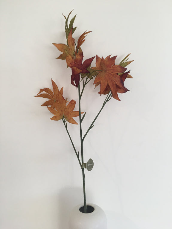 Faux Plant Maple Leaf Spray