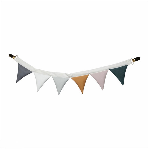 ORGANIC COTTON PRAM GARLAND - COASTAL