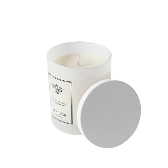 Black Raspberry - White Candle