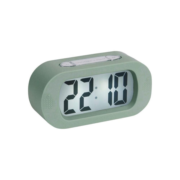 Gummy Digital Alarm Clock - Green