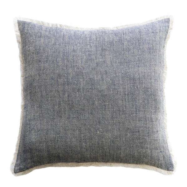 Keaton Cushion Navy/Natural