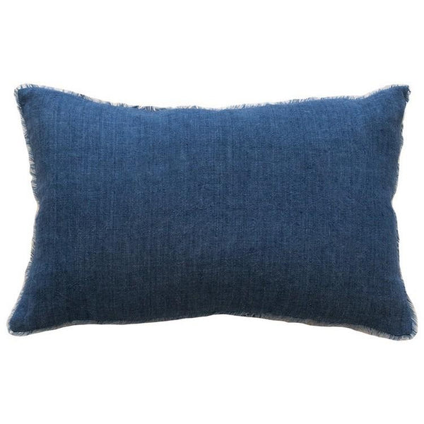 Mulberi Kobo Cushion - indigo
