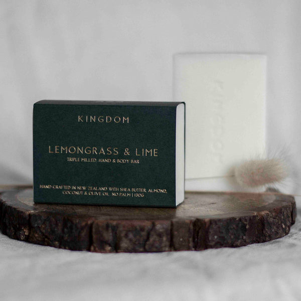 LEMONGRASS & LIME - HAND & BODY BAR