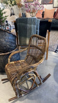 CLASSIC RATTAN CHILDS ROCKER 590 X 440 X 440MM NATURAL