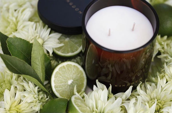 LEMONGRASS & LIME - LUXURY SOY CANDLE