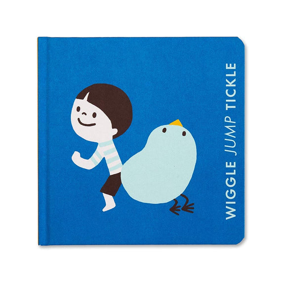 Wiggle Jump Tickle - Board Book