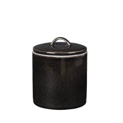 Nordic Coal jar with lid