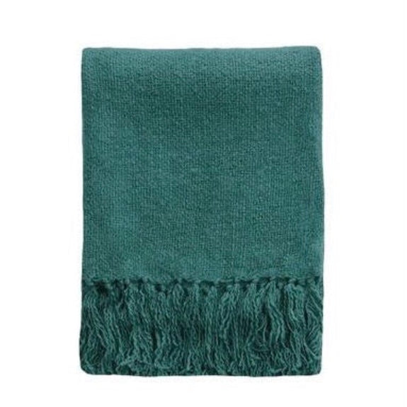 Serenade Dusky Teal 125x150cm Throw
