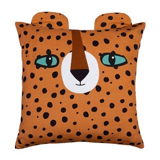 LUCA LEOPARD KIDS CUSHION