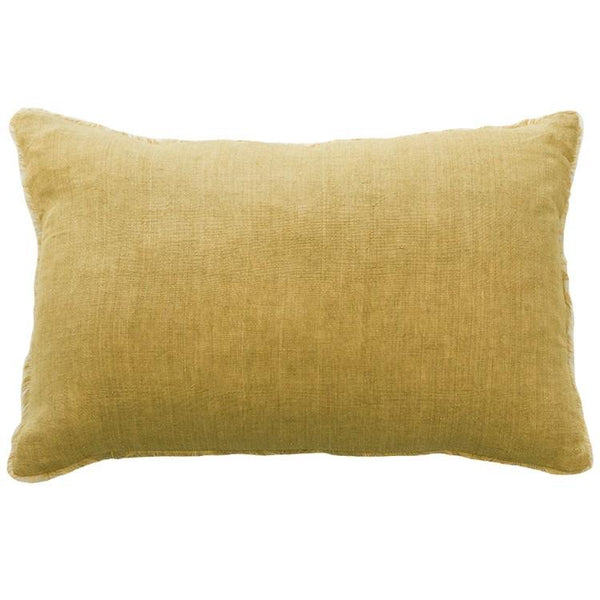 Mulberi Kobo Cushion - ochre