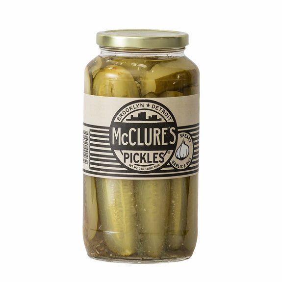 McClure's Pickles Garlic & Dill Pickle Spears 907g