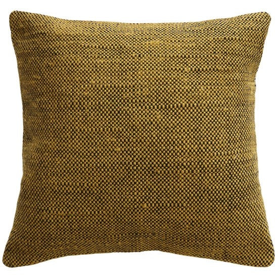 Jasper Cushion 45x45cm - Ochre/Black