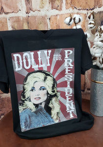 DOLLY FOR PRES TEE