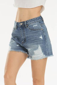 DENIM DIVA HIGH RISE SHORTS