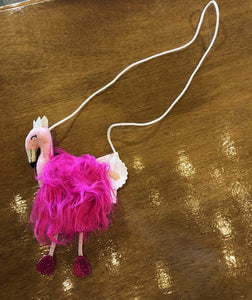 KK FLAMINGO PURSE