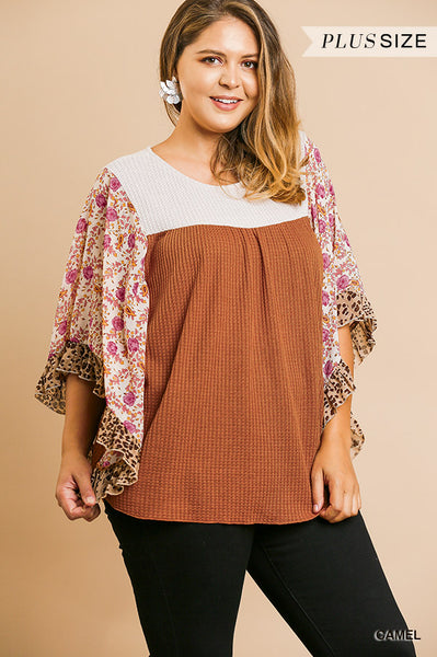 DOLMAN SLV KNIT TOP