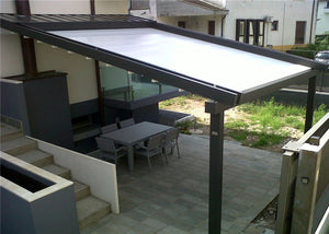 3m*4m Electric Pergola Awning Patio Motorized Retractable Awning Roof